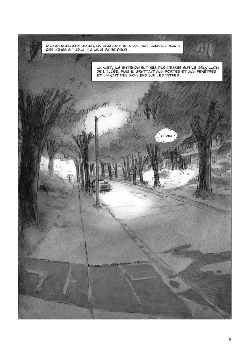 Extrait n°3 de la bd Celui qui n'existait plus par Rodolphe
