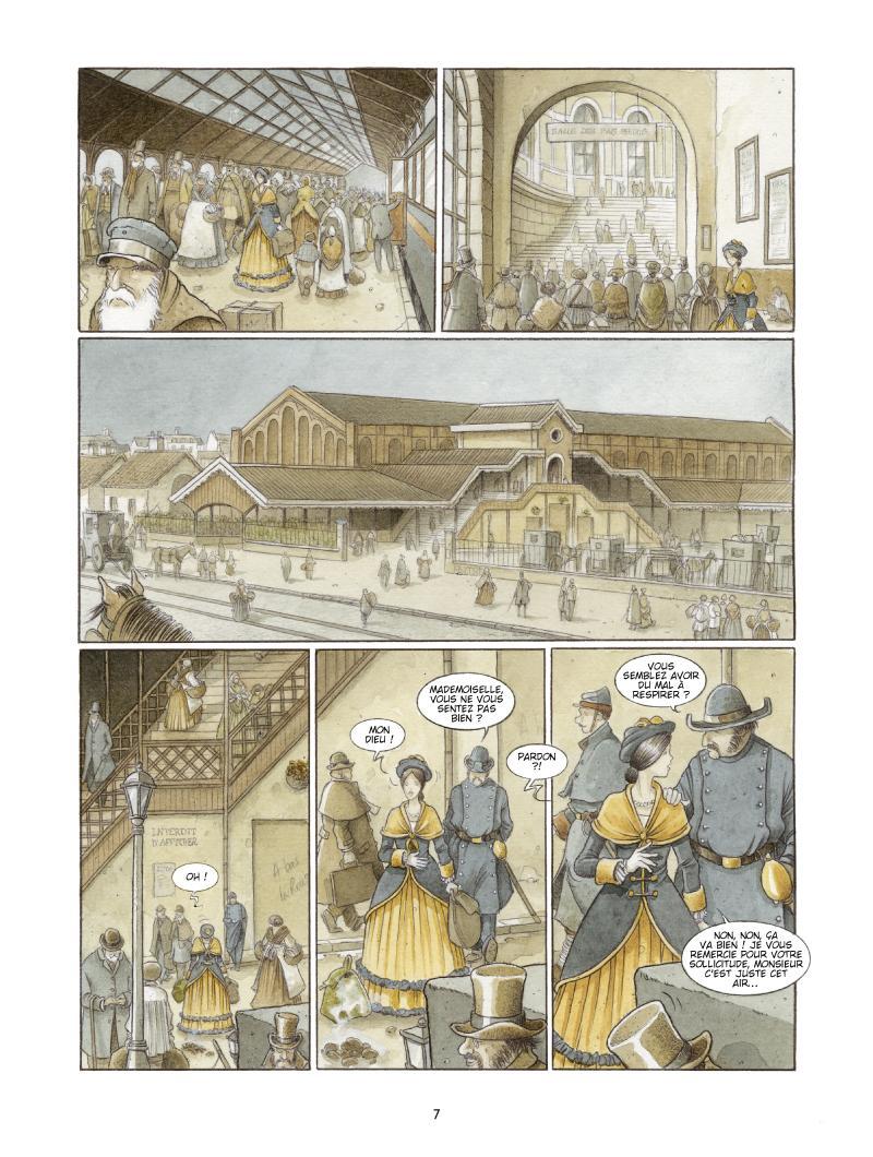 Extrait n°3 de la bd Les Damnés de Paris par Le Galli, Michaël