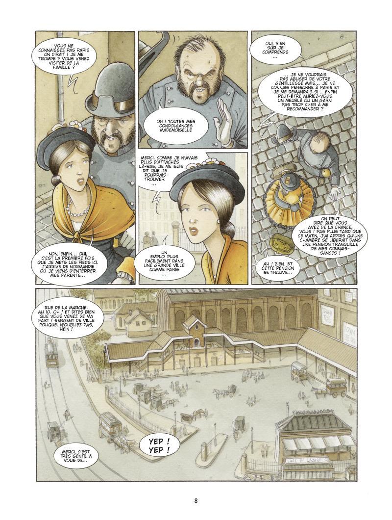 Extrait n°4 de la bd Les Damnés de Paris par Le Galli, Michaël