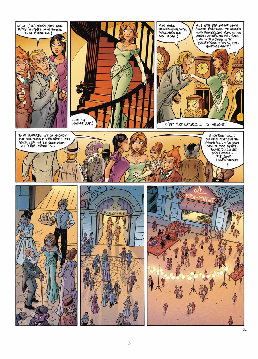Extrait n°3 de la bd tome 11 par Jean-Charles Gaudin