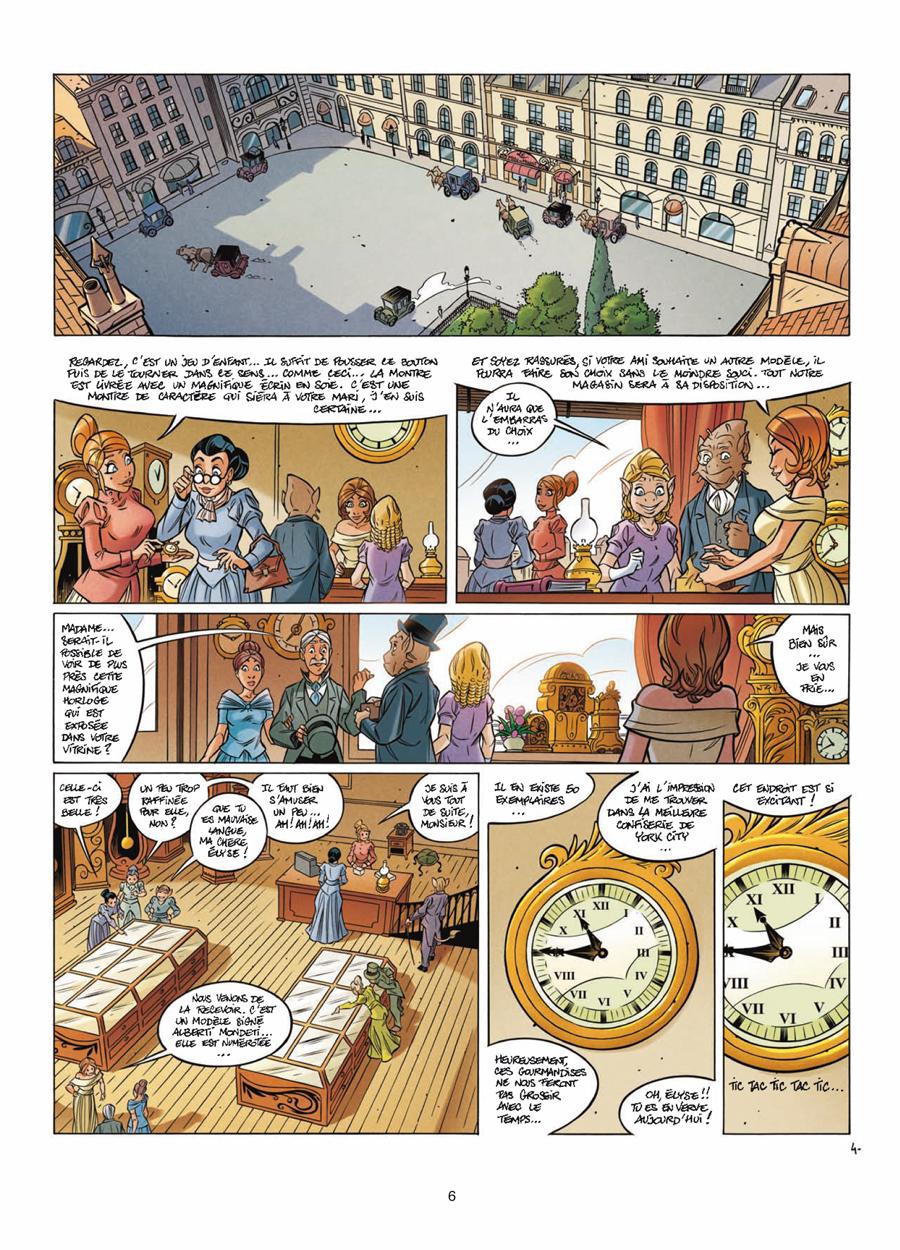 Extrait n°4 de la bd tome 11 par Jean-Charles Gaudin