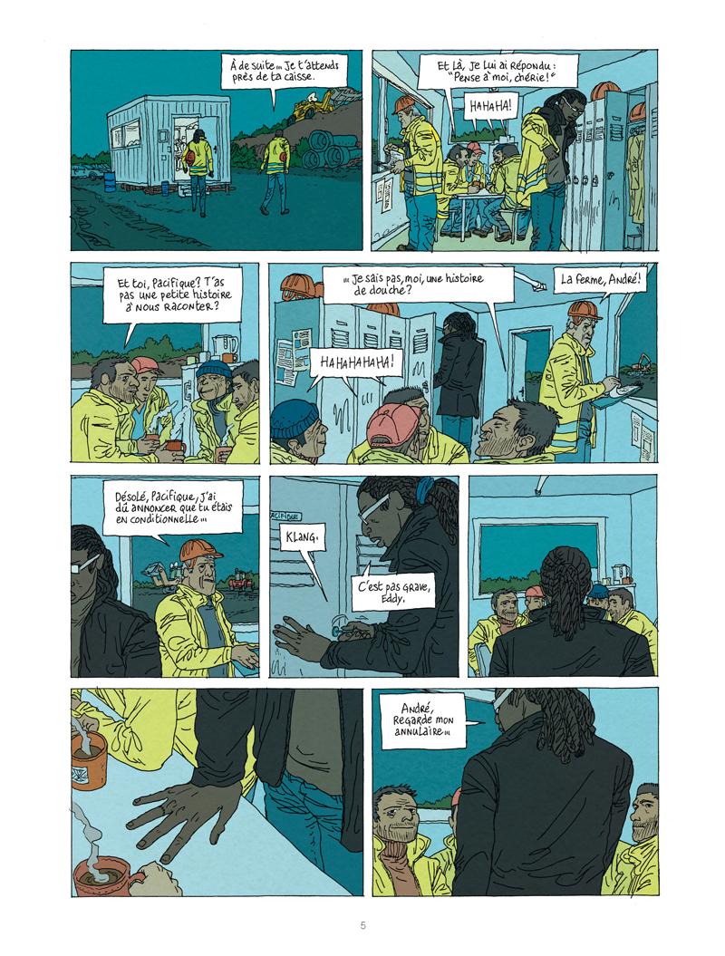 Extrait n°3 de la bd tome 1 par Vincent Perriot