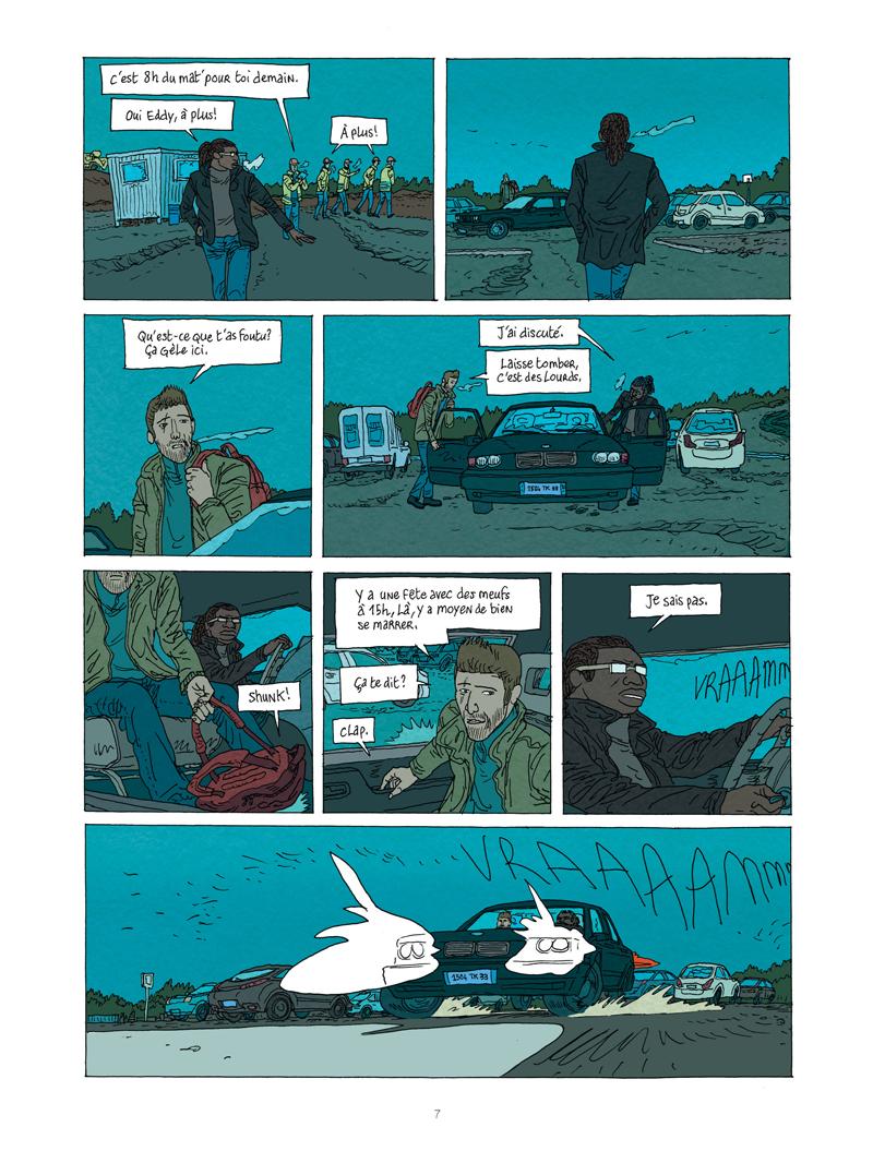 Extrait n°5 de la bd tome 1 par Vincent Perriot