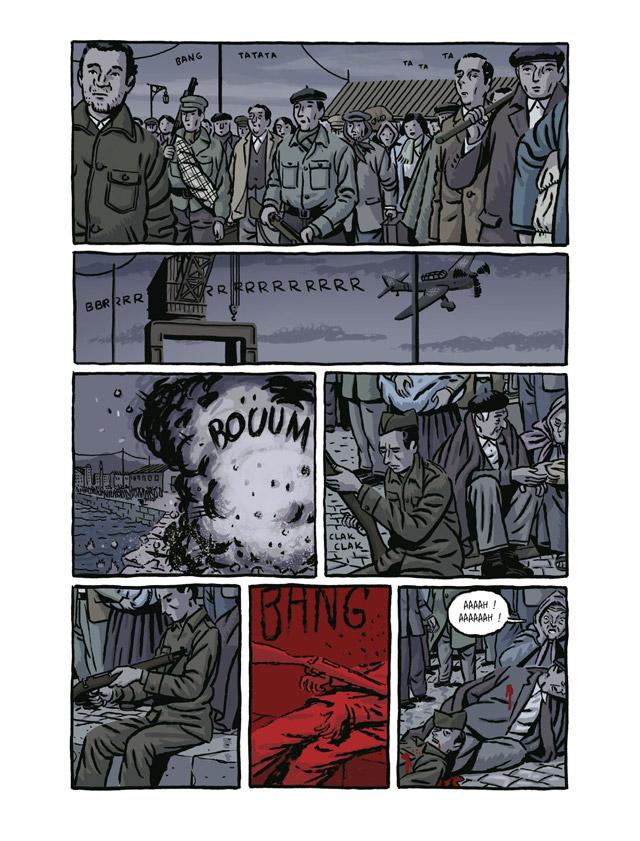 Extrait n°3 de la bd La Nueve par Paco Roca