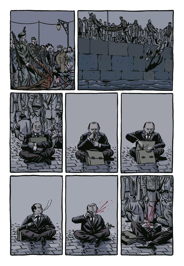 Extrait n°4 de la bd La Nueve par Paco Roca