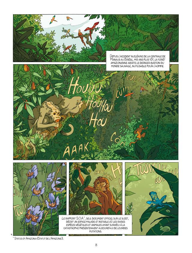 Extrait n°4 de la bd Kanopé par Louise Joor