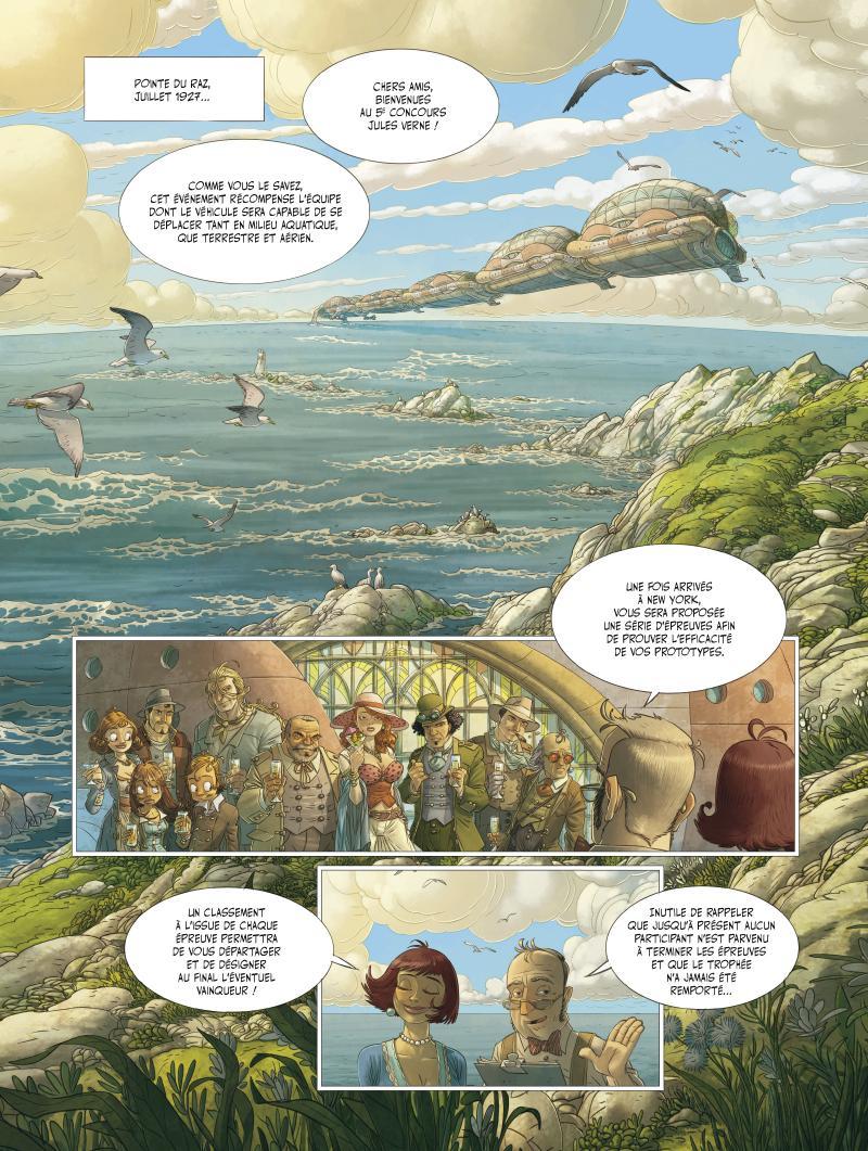 Extrait n°1 de la bd tome 3 par Denis-Pierre Filippi