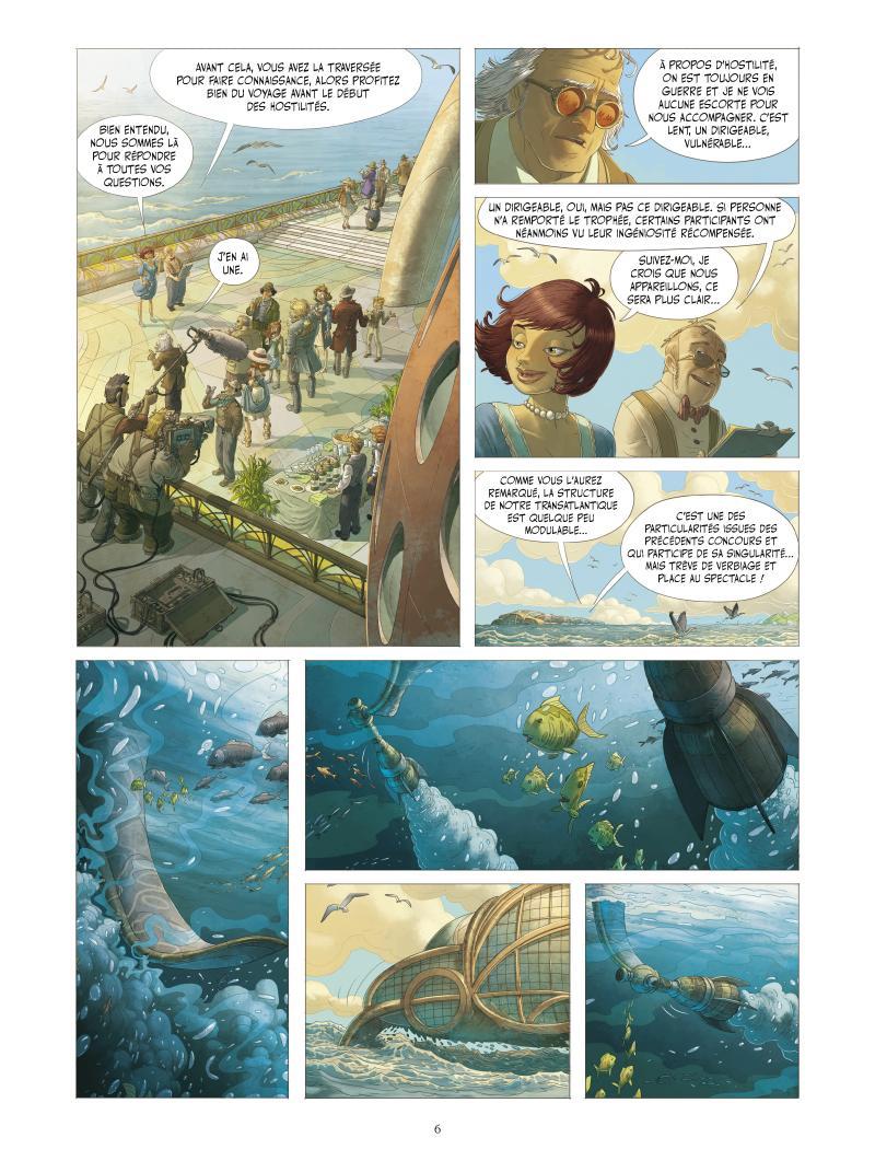 Extrait n°2 de la bd tome 3 par Denis-Pierre Filippi