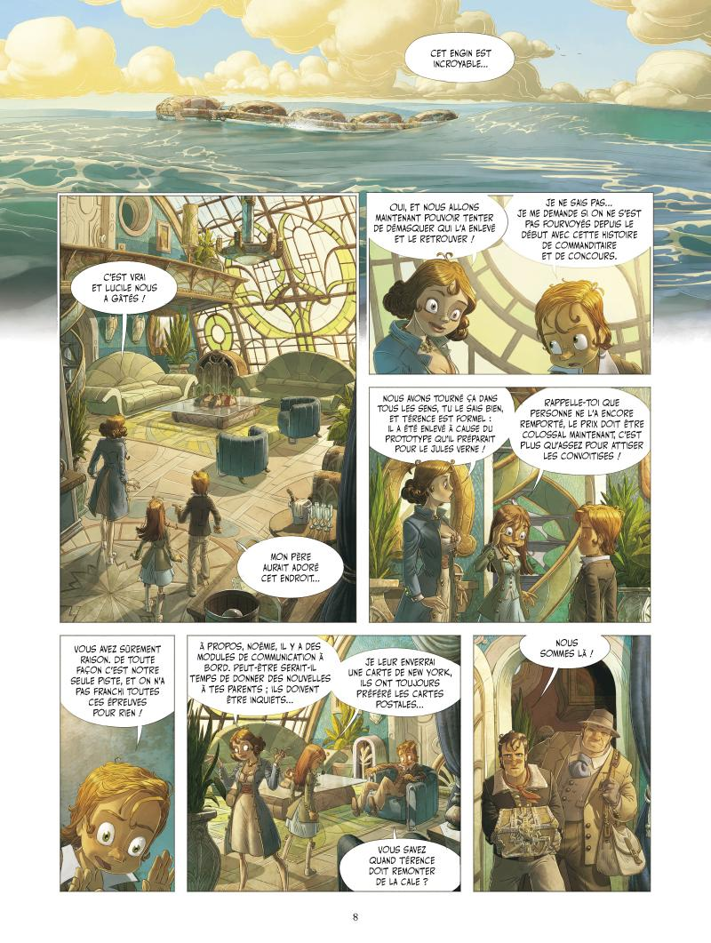 Extrait n°4 de la bd tome 3 par Denis-Pierre Filippi