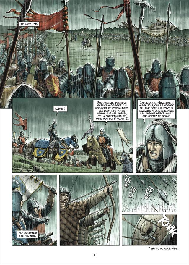 Extrait n°1 de la bd tome 2 par Thierry Gloris