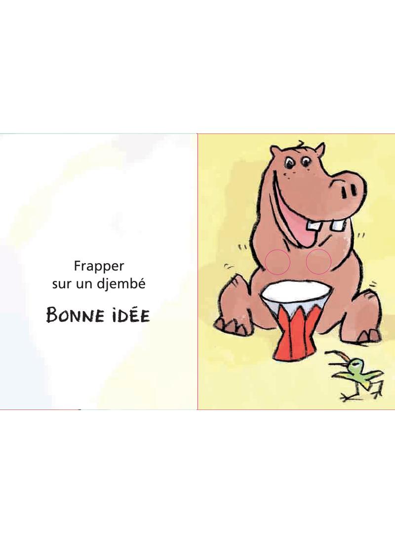 Extrait n°3 de la bd Bonne ou mauvaise idée par Ludovic Flamant