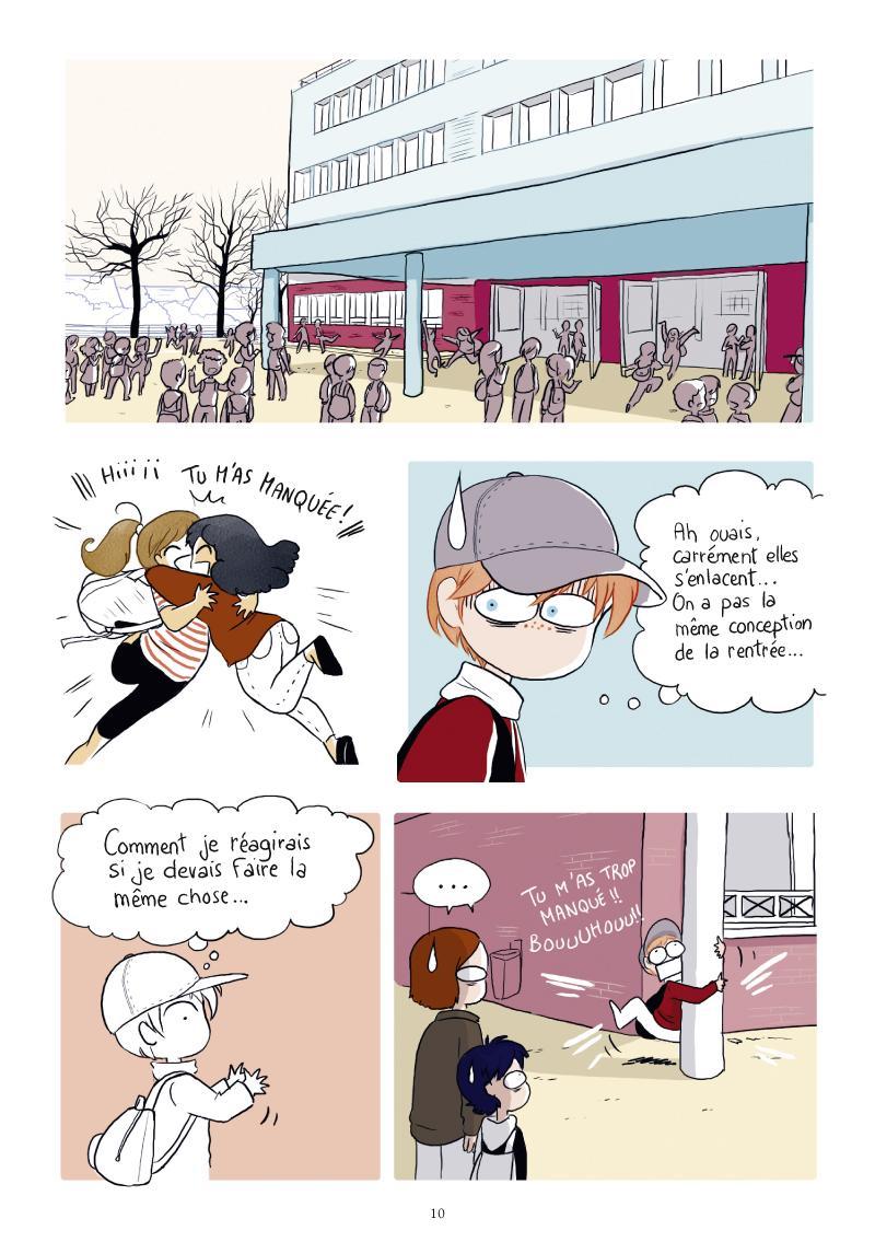 Extrait n°4 de la bd Sasha - Survivre au collège ! par Yatuu