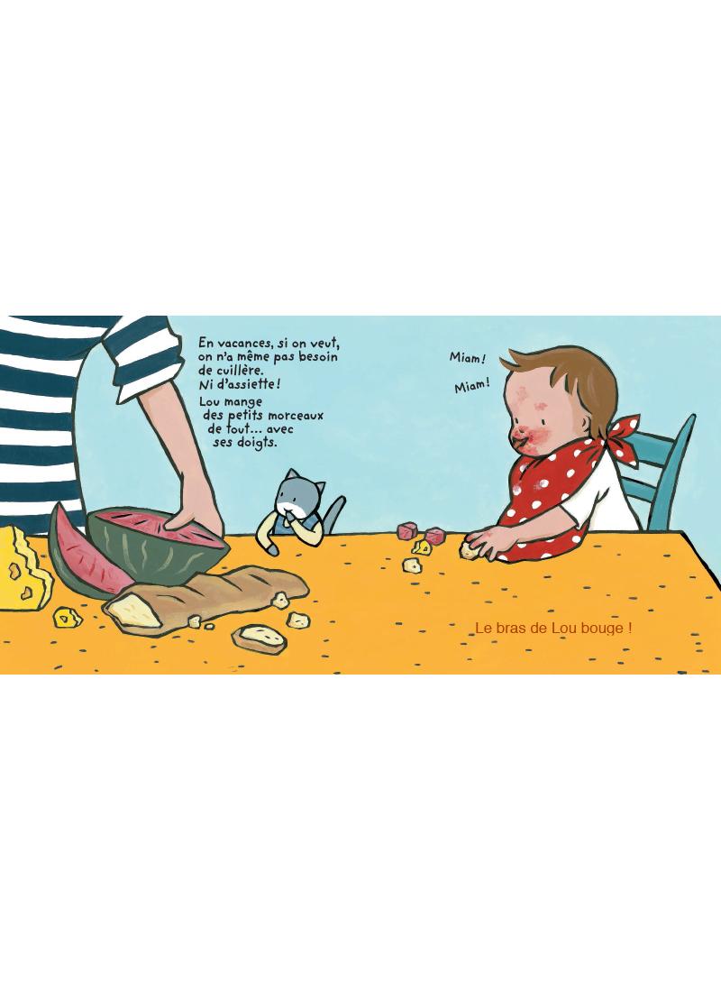 Extrait n°4 de la bd Bonnes vacances, Lou ! par Jeanne Ashbé