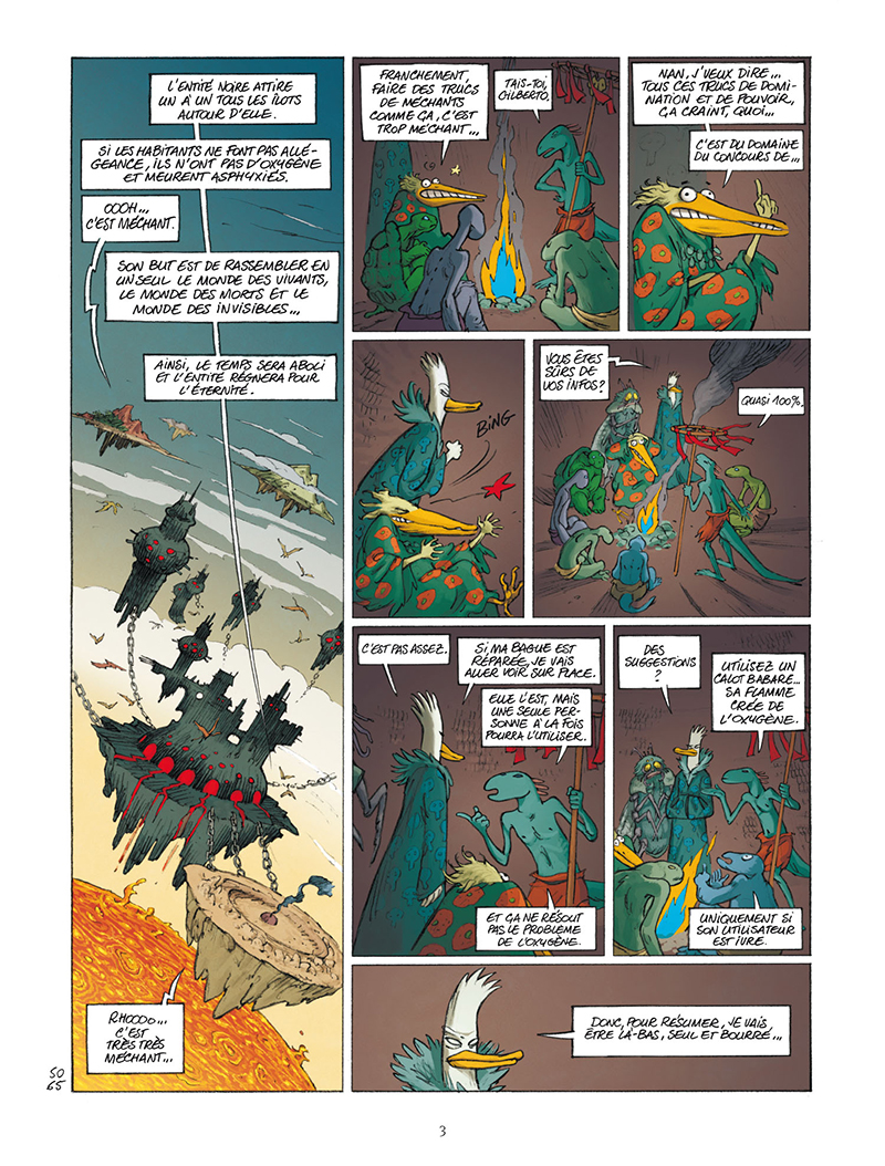 Extrait n°1 de la bd tome 111 par Lewis Trondheim