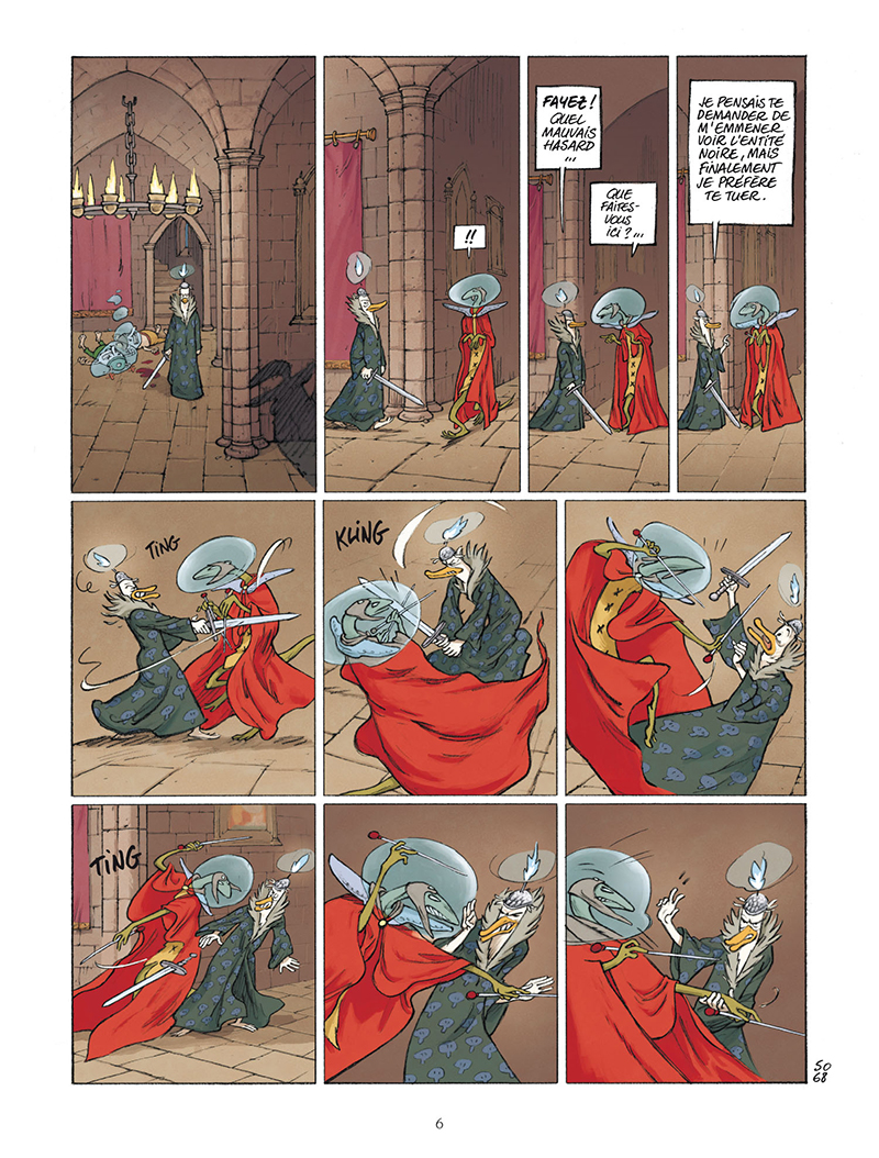 Extrait n°4 de la bd tome 111 par Lewis Trondheim