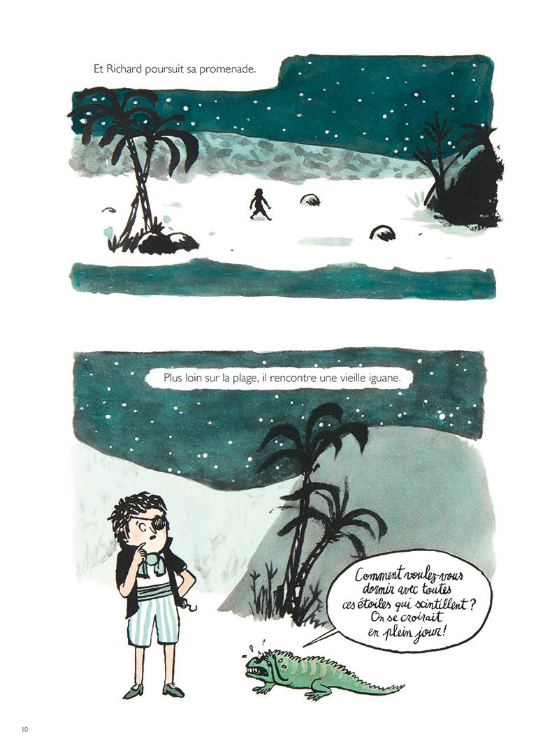 Extrait n°4 de la bd Les Trois Pires Histoires de pirates par Thomas Bretonneau