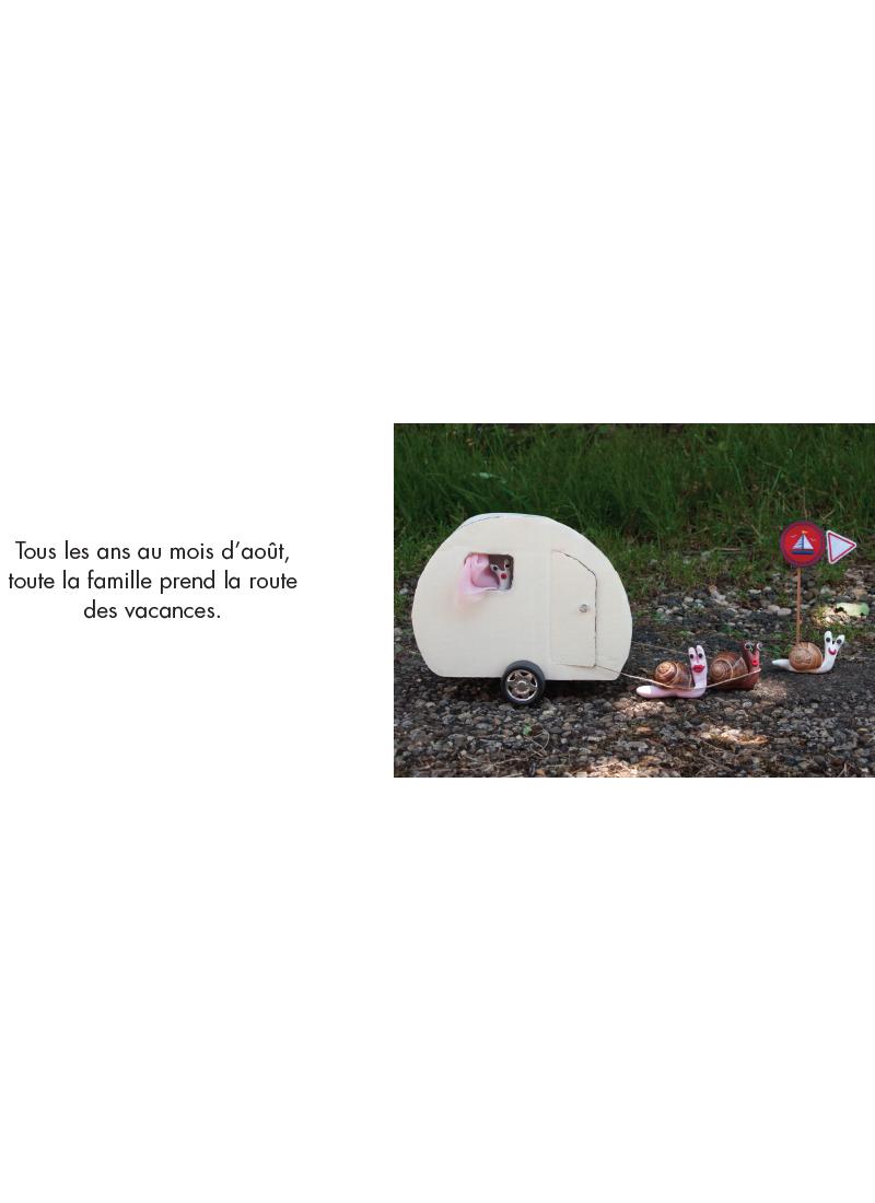 Extrait n°1 de la bd Les Vacances par Isabelle Gil