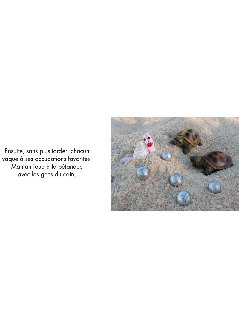 Extrait n°5 de la bd Les Vacances par Isabelle Gil