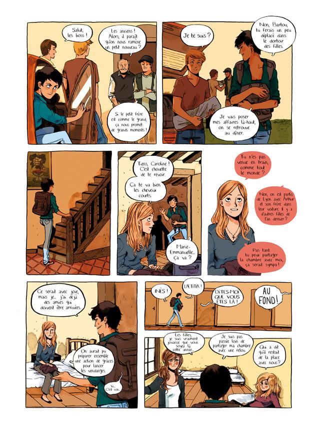 Extrait n°3 de la bd Premières Vendanges par Wandrille