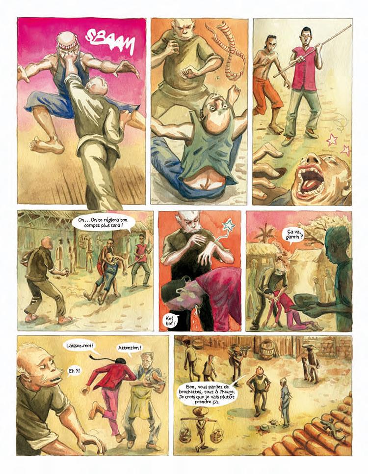 Extrait n°4 de la bd Le Vaurien par Clément Baloup