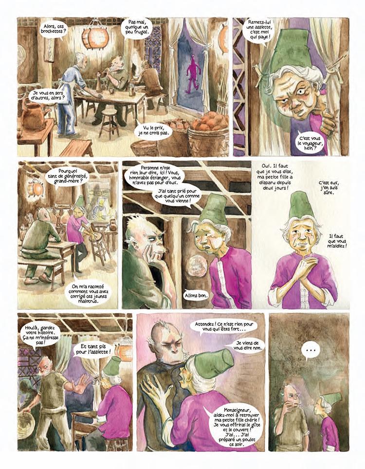 Extrait n°5 de la bd Le Vaurien par Clément Baloup