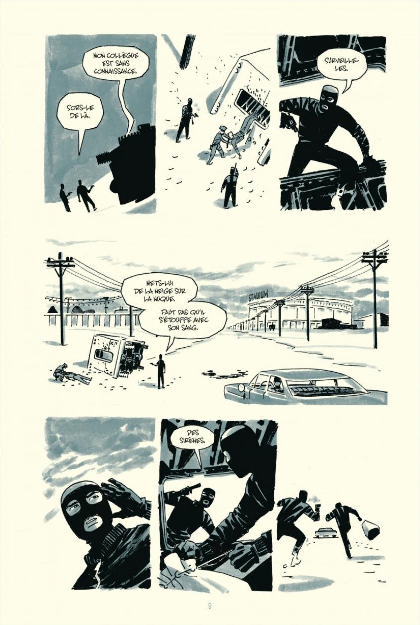 Extrait n°3 du comics tome 4 par Darwyn Cooke