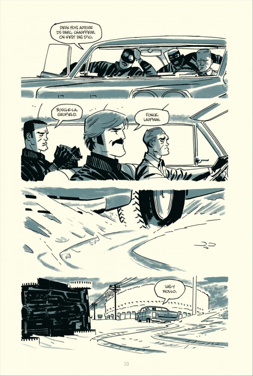 Extrait n°4 du comics tome 4 par Darwyn Cooke