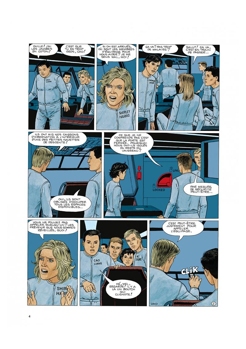 Extrait n°2 de la bd tome 1 par Léo