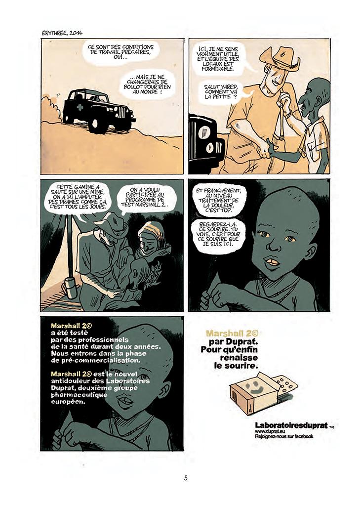 Extrait n°1 de la bd tome 1 par Hervé Bourhis