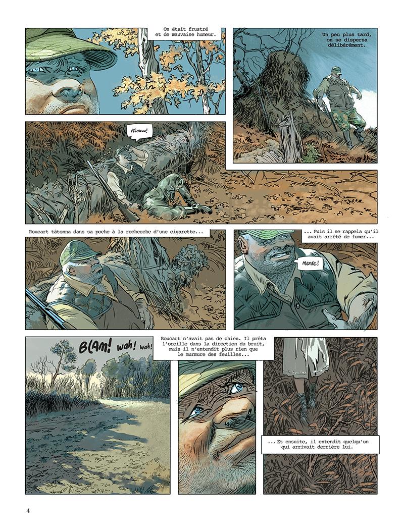 Extrait n°2 de la bd Fatale par Doug Headline