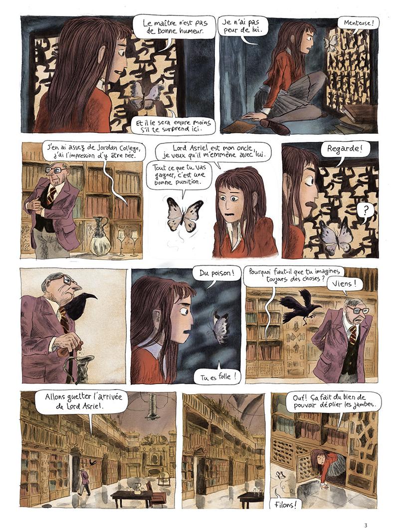 Extrait n°3 de la bd tome 1 par Clément Oubrerie