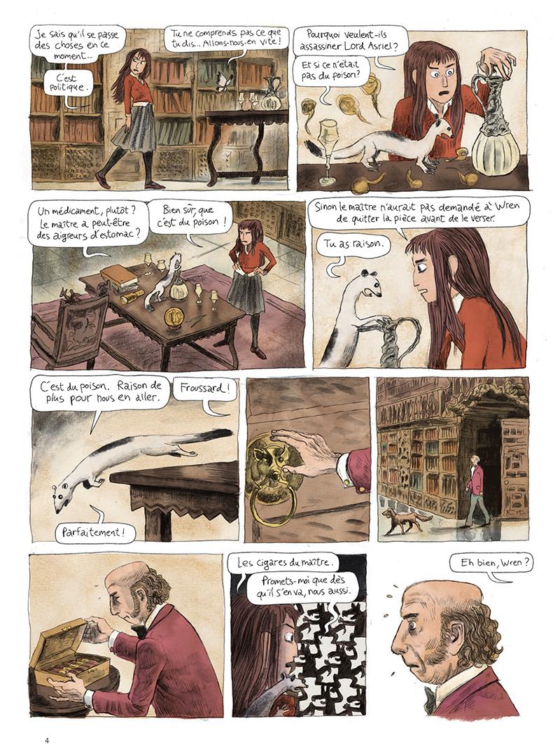 Extrait n°4 de la bd tome 1 par Clément Oubrerie