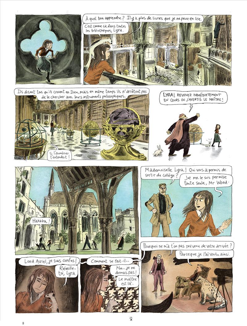 Extrait n°8 de la bd tome 1 par Clément Oubrerie