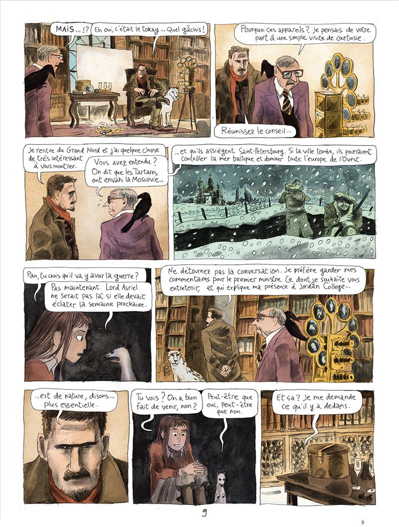 Extrait n°9 de la bd tome 1 par Clément Oubrerie