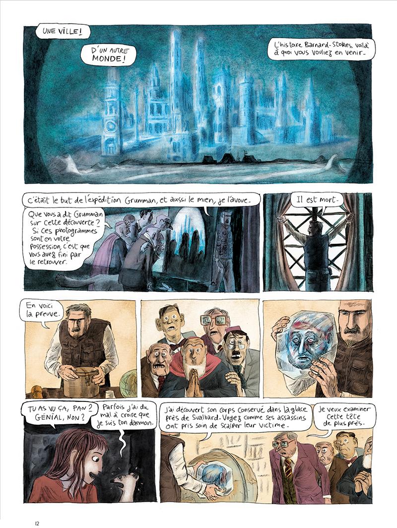Extrait n°12 de la bd tome 1 par Clément Oubrerie