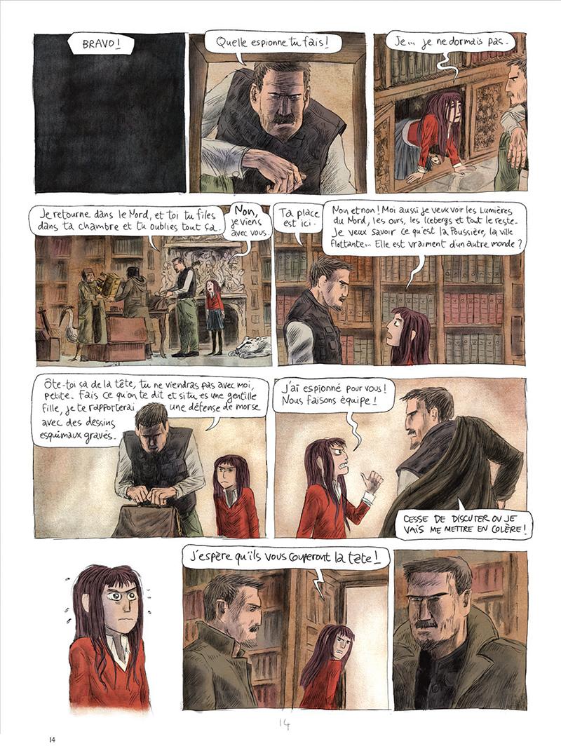 Extrait n°14 de la bd tome 1 par Clément Oubrerie