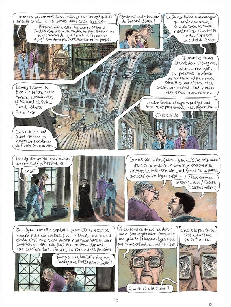 Extrait n°15 de la bd tome 1 par Clément Oubrerie