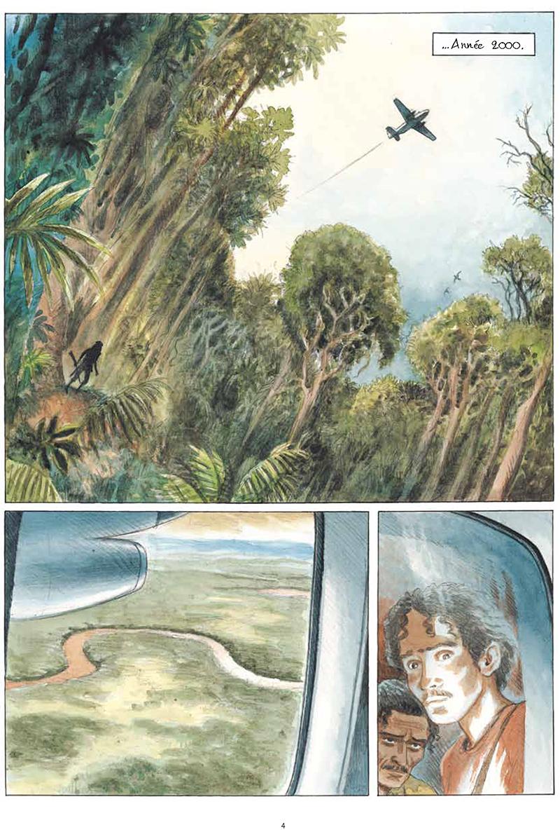 Extrait n°2 de la bd tome 1 par Stéphane Piatzszek