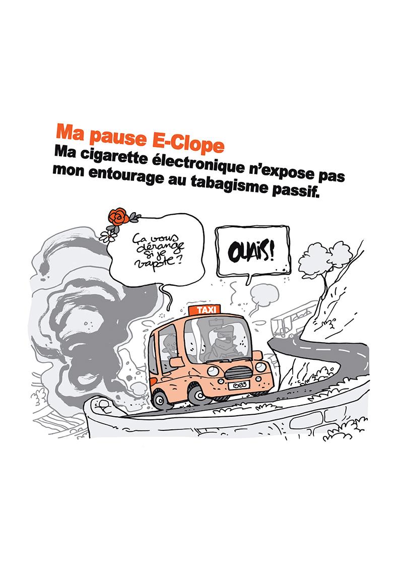 Extrait n°7 de la bd Ma cigarette électronique par Monsieur B.