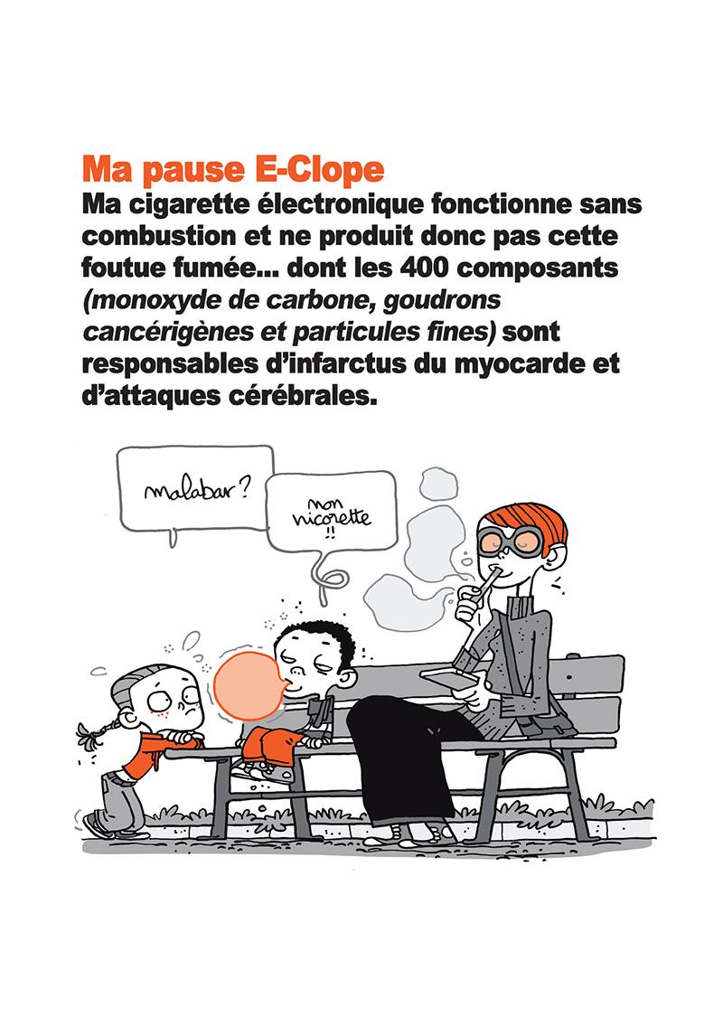 Extrait n°14 de la bd Ma cigarette électronique par Monsieur B.