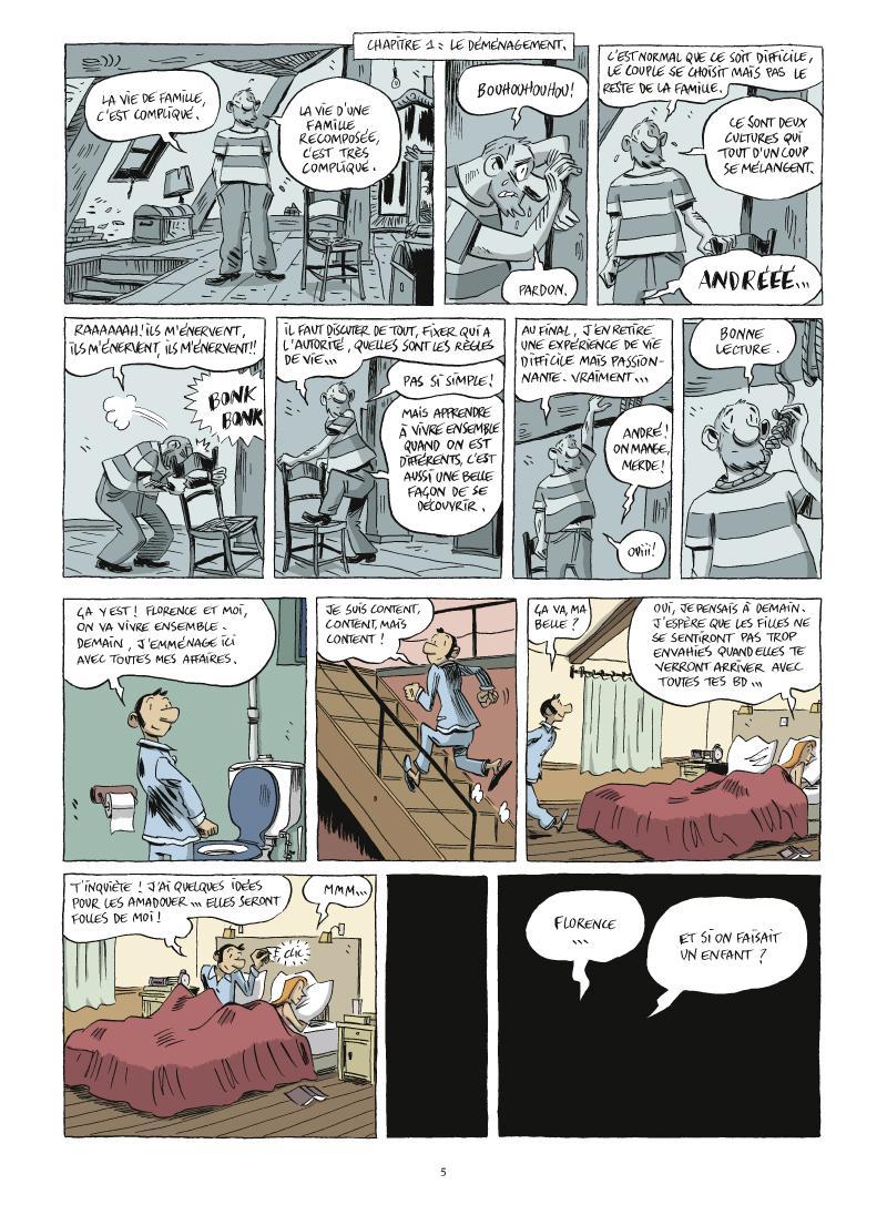 Extrait n°1 de la bd tome 2 par Vincent Zabus