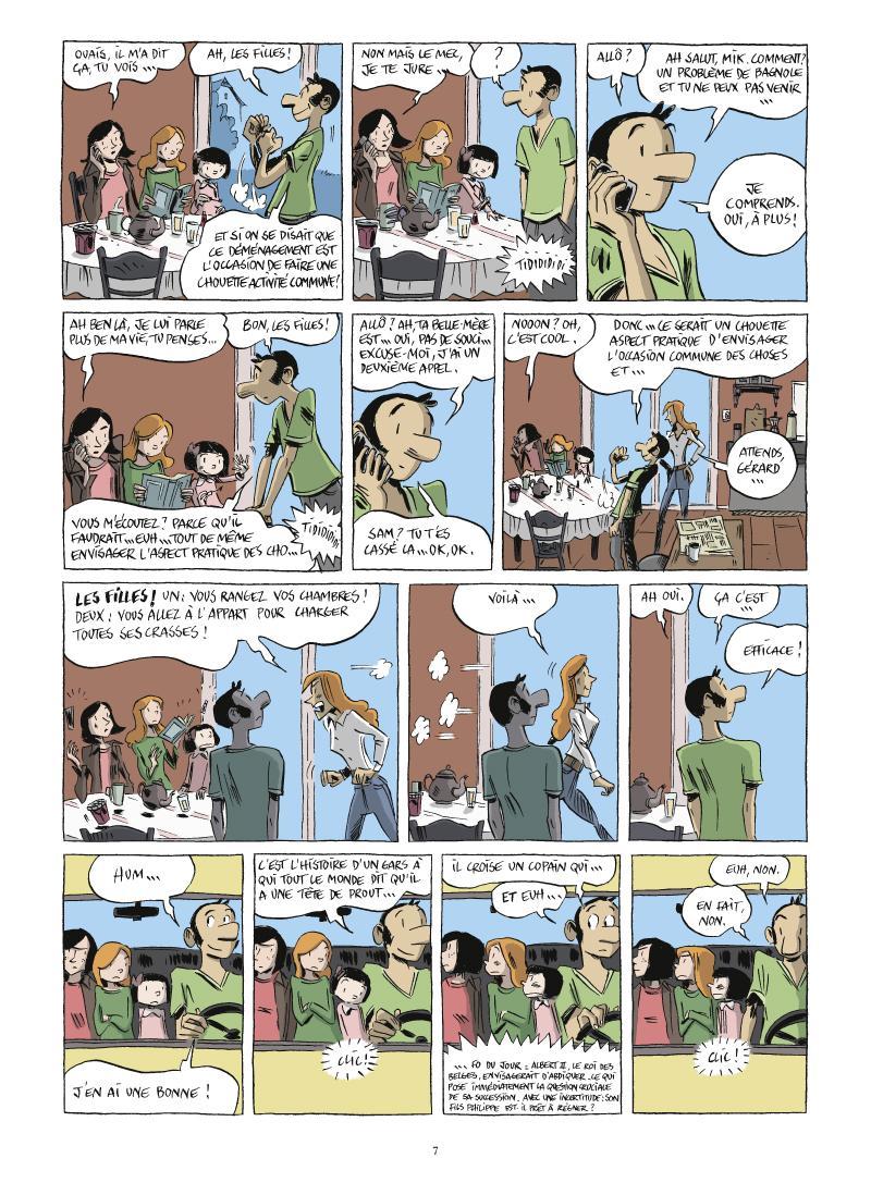 Extrait n°3 de la bd tome 2 par Vincent Zabus