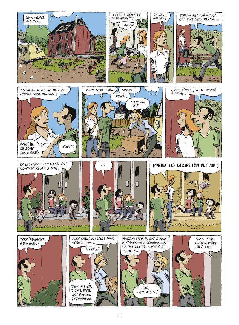 Extrait n°4 de la bd tome 2 par Vincent Zabus