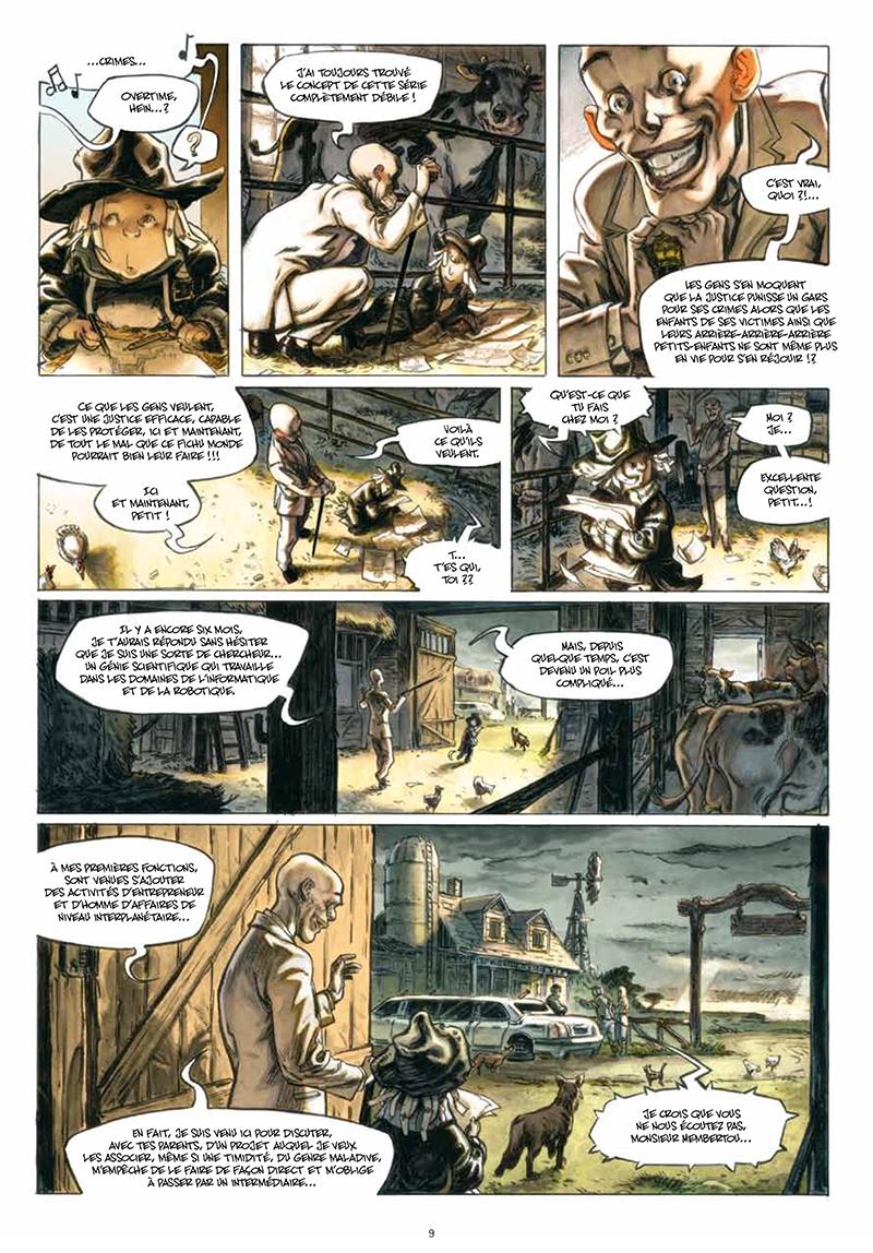 Extrait n°5 de la bd tome 3 par Luc Brunschwig