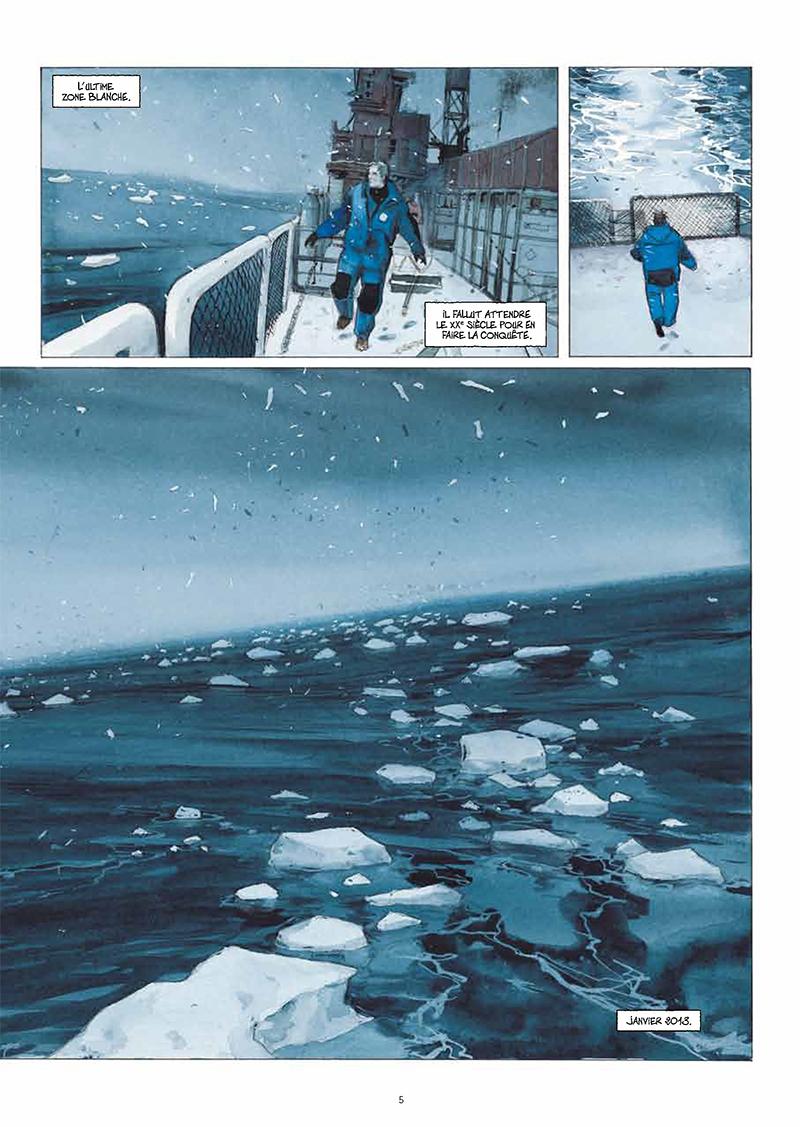 Extrait n°3 de la bd La Lune est blanche par Emmanuel Lepage