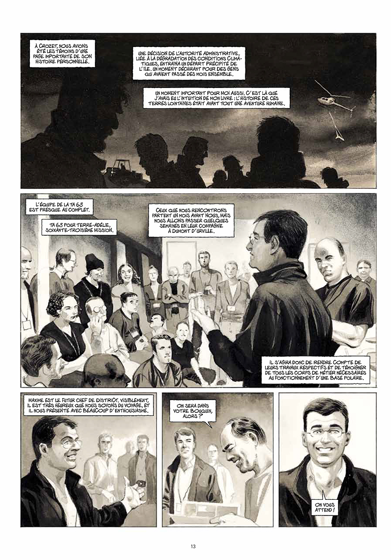 Extrait n°11 de la bd La Lune est blanche par Emmanuel Lepage