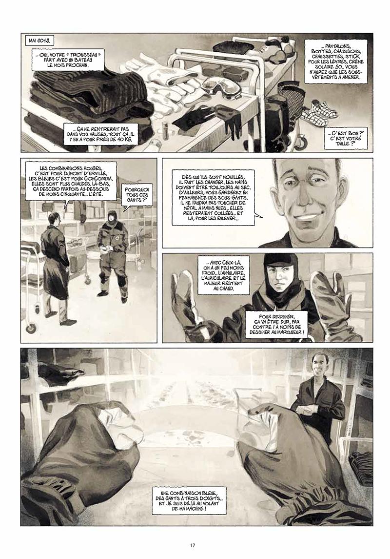 Extrait n°15 de la bd La Lune est blanche par Emmanuel Lepage