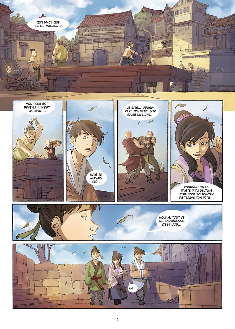 Extrait n°7 de la bd tome 4 par Yang Liu