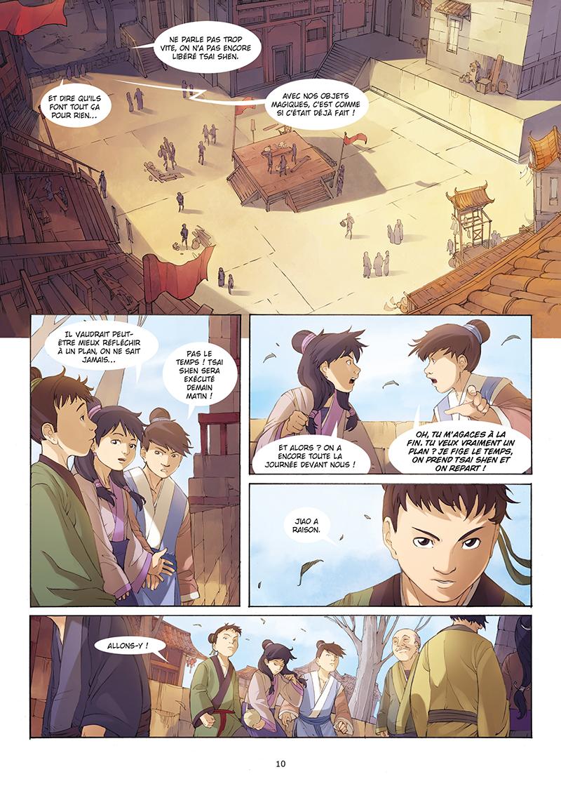 Extrait n°8 de la bd tome 4 par Yang Liu