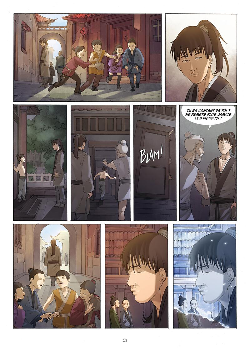 Extrait n°9 de la bd tome 4 par Yang Liu